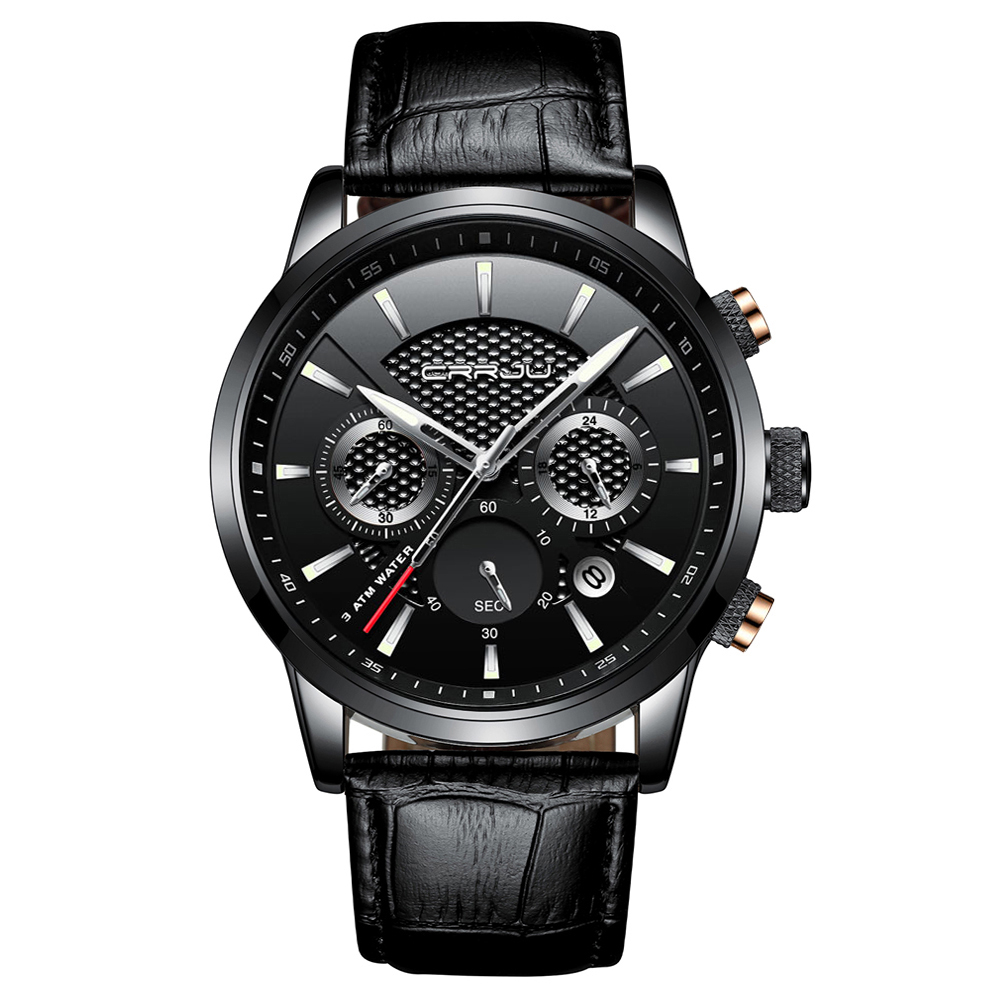 Men's Stainless Steel Luxury Watch